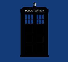Doctor Who Tardis Minimal by MeepAndMushrat