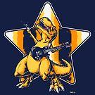 Tyrannosaurus Rocks by Nathan Davis