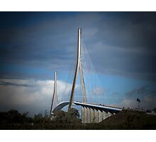 le Pont de Normandie Photographic Print