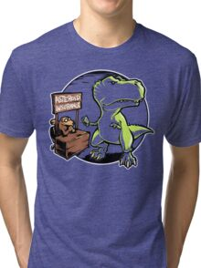 Asteroid Insurance Tri-blend T-Shirt