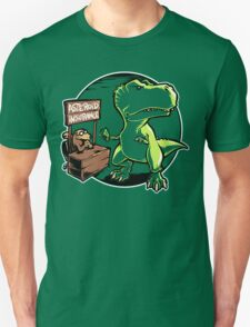 Asteroid Insurance Unisex T-Shirt