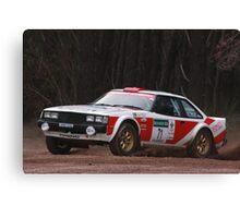 Scouts Rally SA 2013 - Bates/Taylor Canvas Print