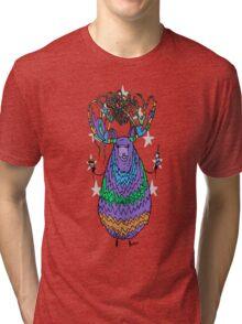 The Tasty God of Fast Food Tri-blend T-Shirt