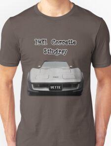 1981 Corvette Stingray T-Shirt