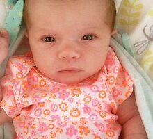 Raelyn Grace CANN  3 weeks -  G/Granddaughter by EdsMum