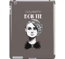 The Girl with the Bow Tie iPad Case/Skin