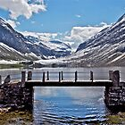 Lake Eidsvatten - Another view by John Thurgood