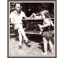 Daddy, Tricia and CrackerJack, 1959 Photographic Print