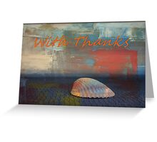 WOW!  Sold two works Greeting Card