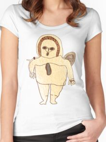 Ancient Spaceman Women's Fitted Scoop T-Shirt