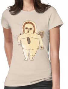Ancient Spaceman Womens Fitted T-Shirt