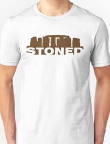 Stoned (Brown Print) T-Shirt