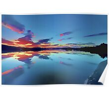 Lomond Dawns Digital Art Poster