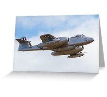 Meteor Flyover Greeting Card