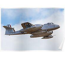 Meteor Flyover Poster