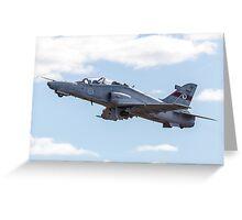 RAAF BAE Hawk Takeoff Greeting Card