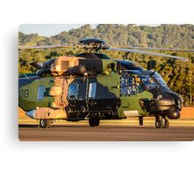 RAN MRH-90 golden light Canvas Print