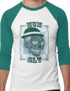 MUM VINTAGE SKULL T-SHIRT Men's Baseball ¾ T-Shirt