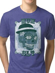 MUM VINTAGE SKULL T-SHIRT Tri-blend T-Shirt