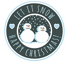 Let it snow by Emma Harckham