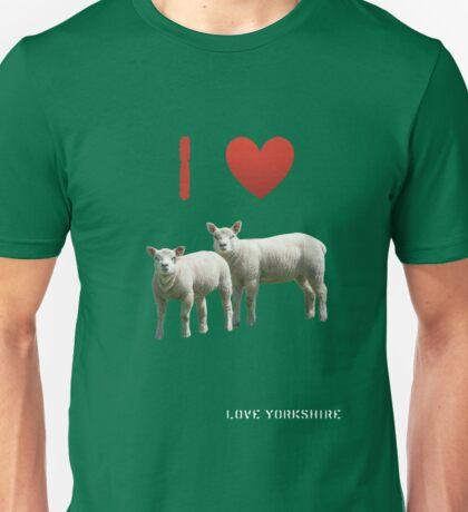 Love Lamb - Love Yorkshire Unisex T-Shirt