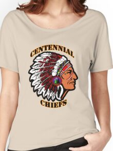 Centennial Chiefs T-shirt Women's Relaxed Fit T-Shirt