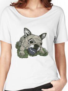MUM DOG#03 T-SHIRT Women's Relaxed Fit T-Shirt
