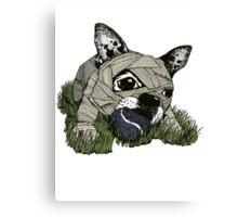 MUM DOG#03 T-SHIRT Canvas Print