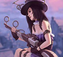 Caitlyn from League of Legends by Gaandi