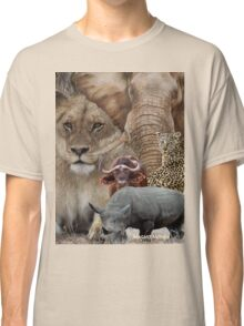 """A """"BIG 5"""" TEESHIRT DESIGN, ALL THE WAY FROM AFRICA ! Classic T-Shirt"""