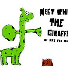 Phil the Giraffe by creativecamart
