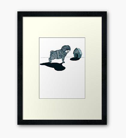 MUM DOG#04 T-SHIRT Framed Print