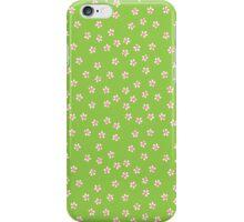 Daisy green iPhone Case/Skin