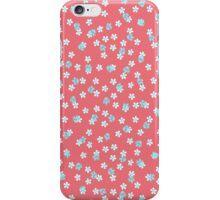 Daisy Heather pink iPhone Case/Skin