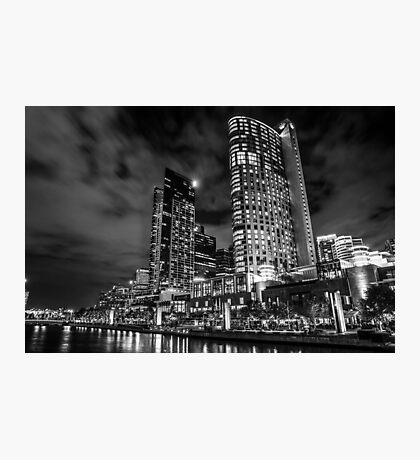 Crown Casino B & W Photographic Print