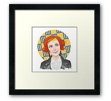 HW #11 Framed Print