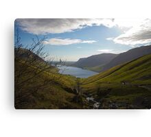 Wasdale fom Scafell Pike Canvas Print