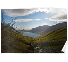 Wasdale fom Scafell Pike Poster