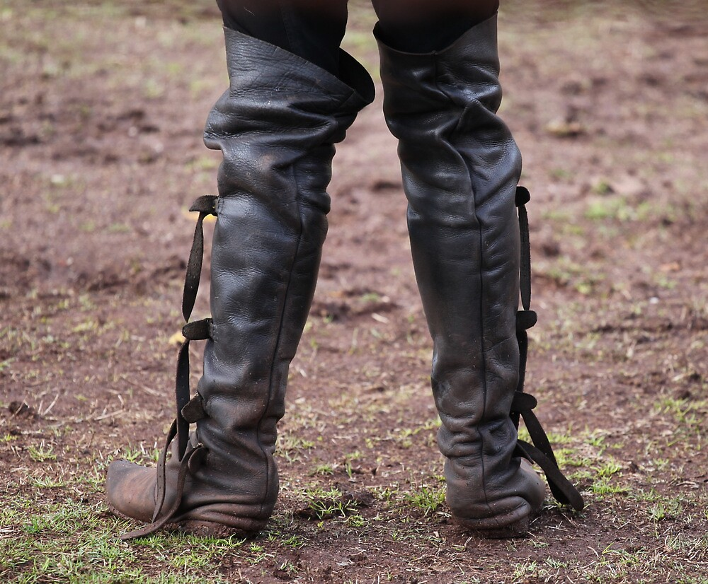 These Boots Were Made For Jousting by v-something