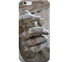 Hand, river god Nile statue, Rome, Italy iPhone Case/Skin