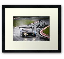 BMW Team Schubert - 2013 Nurburgring 24 Hour Framed Print