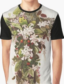 Easter Cross of Flowers  Graphic T-Shirt