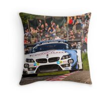 BMW Team Schubert - 2013 Nurburgring 24 Hour Throw Pillow