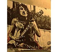 AC/DC - Angus Young Photographic Print