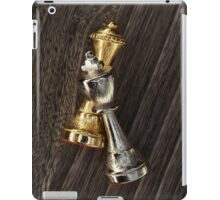 Chess King and Queen iPad Case/Skin