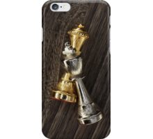 Chess King and Queen iPhone Case/Skin