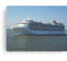Azura P&O Cruise liner Canvas Print