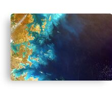 Northwest Australia From the Space Station's EarthKAM Canvas Print