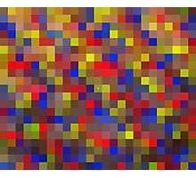 Pixel Love - Abstract Digital Art Print Photographic Print
