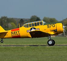 North American Harvard (Navy Colours) by Simon Hills